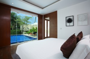 Beachfront Pool Villa - Bedroom I