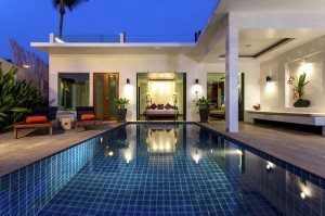 Beachfront Pool Villa - Exterior II