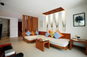 Beachfront Pool Villa - Living Area I
