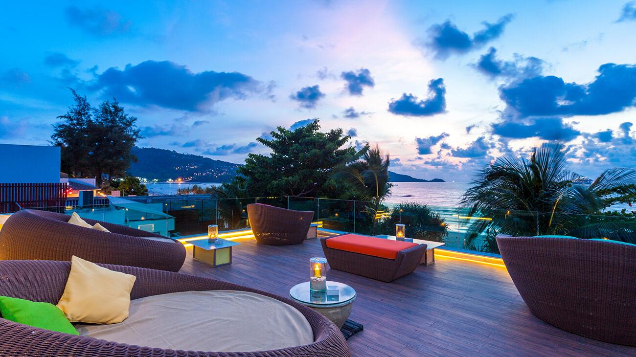 nouvelle hotel 5 étoiles sur phuket thailand