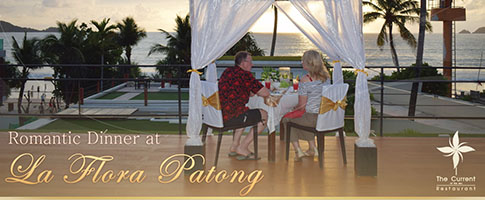 Romantic Dinner at Veranda @ La Flora Resort Patong