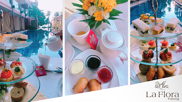 Afternoon Tea Set @ La Flora Resort Patong